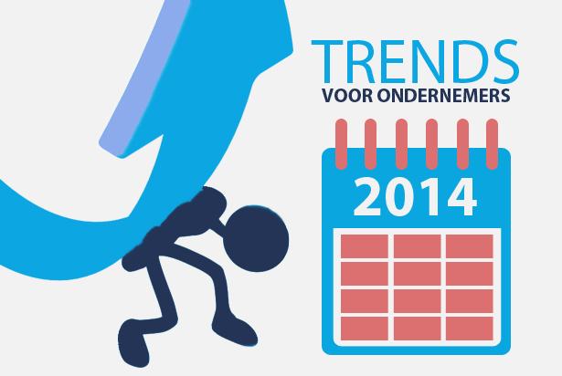 De online trends van 2014 voor ondernemers