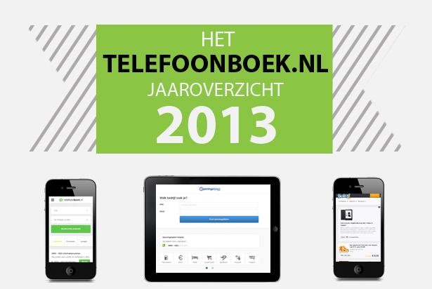 Telefoonboek.nl Jaaroverzicht 2013