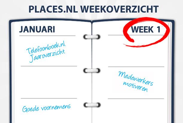 Week 1: Werknemers motiveren, goede voornemens en het Telefoonboek.nl Jaaroverzicht