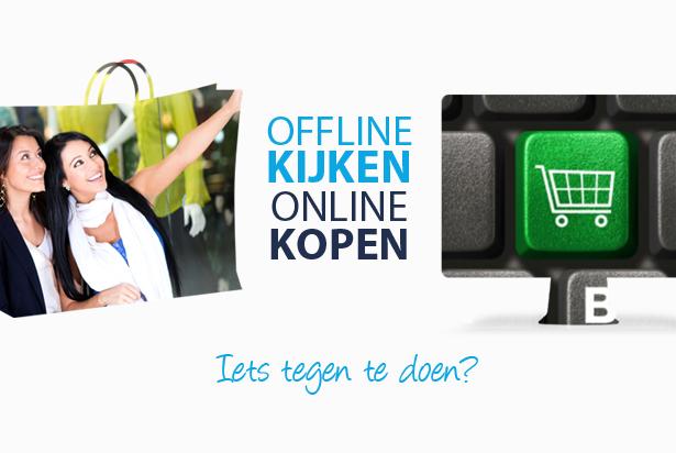 Showrooming: offline kijken, online kopen