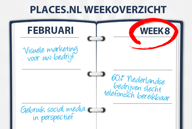 Week 8: Visuele marketing, showrooming en slechte telefonische bereikbaarheid van Nederlandse bedrij