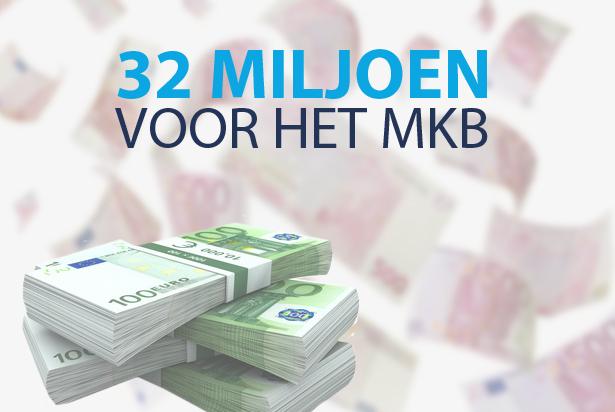 32 miljoen voor innovatieve MKB'ers