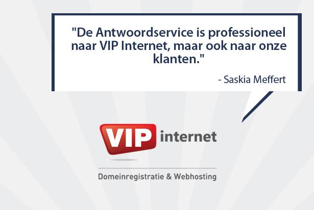 VIP Internet: 'Places Antwoordservice begrijpt kwaliteit'