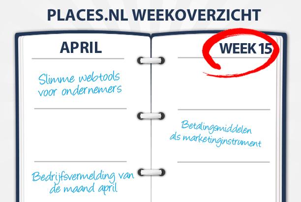 Week 15: Slimme webtools, online betaalgemak en trending topics