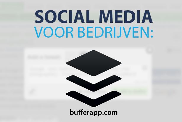 Social media: altijd up-to-date met Buffer