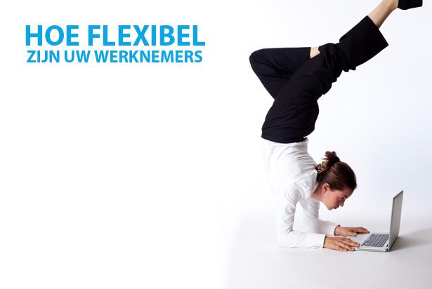 Het Nieuwe Werken: hoe flexibel zijn uw werknemers?