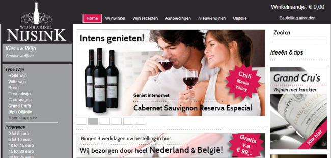 Bedrijfsvermelding van de maand: Wijnhandel Nijsink