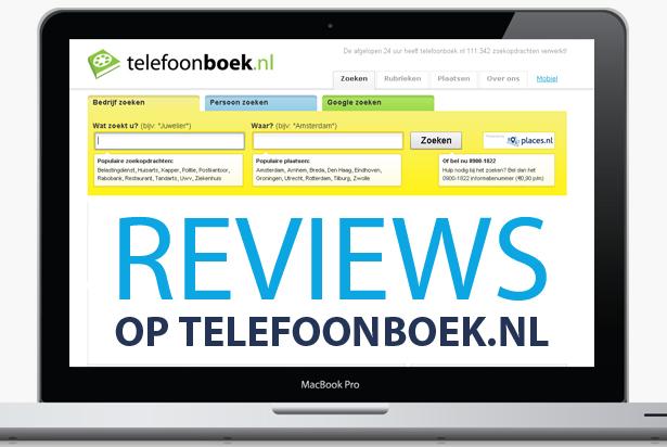 Telefoonboek.nl reviews: zorg voor een positief imago!