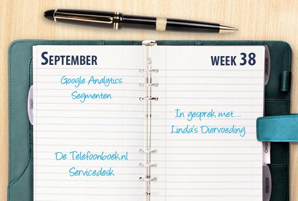 Week 38: Google Analytics en Places Antwoordservice