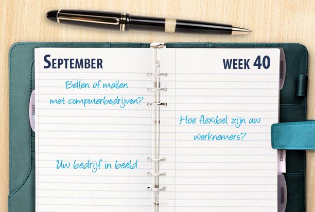 Week 40: telefonische bereikbaarheid van computerbedrijven en reviews op Telefoonboek.nl