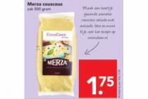 merza couscous