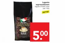 lagosta espressobonen
