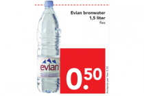 evian bronwater 15 liter