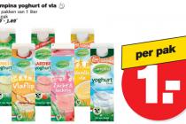 campina yoghurt of vla