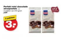 perfekt mini chocolade stroopwafels