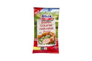 unox gelderse boerenrookworst scharrelvlees