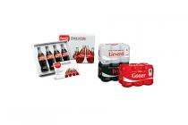coca cola 6 pack blikken