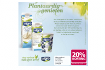 alpro yoghurt en drinks