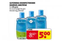 glycerona desinfecterende handgel multipak