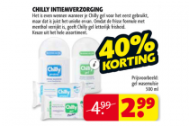 chilly intiemverzorging