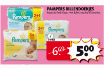 pampers billendoekjes