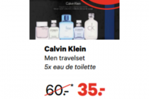 calvin klein men travelset