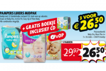 pampers luiers midpak