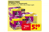 whiskas pouch