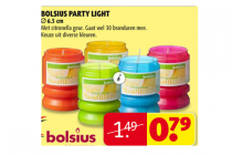 bolsius party light