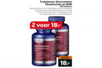trekpleister glucosamine chondroitine en msm