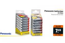 panasonic batterijen 24 stuks