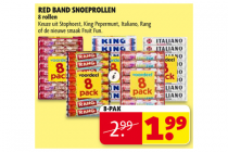 red band snoeprollen