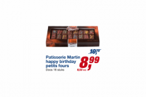 patisserie martin happy birthday petits fours