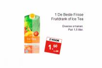 1 de beste frisse fruitdrank of ice tea
