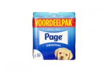 page toiletpapier dubbellang 16 rollen of original 32 rollen