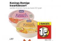 konings romige yoghurt