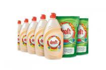 dreft grootverpakkingen vaatwastabletten en handafwas