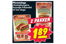 flemmings cheeseburger broodje frikandel of hotdog