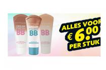 maybelline bb cream voor 6 euro