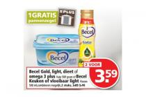 becel gold light dieet of  omega 3 plus of f becel  keuken of vloeibaar light