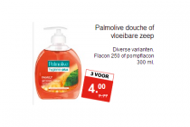 palmolive douche of vloeibare zeep
