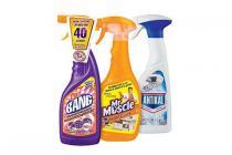 alle huishoudsprays