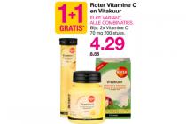 roter vitamine c en vitakuur