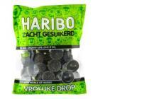 haribo vrolijke drop zacht gesuikerd