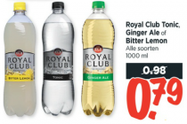 royal club tonic ginger ale of bitter lemon