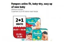 pampers active fit baby dry easy up of new baby