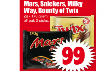 mars snickers milky way bounty of twix