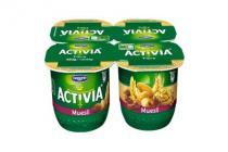 danone activia yoghurt muesli