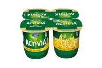 danone activia yoghurt vezelmango
