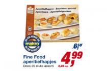 fine food aperitiefhapjes